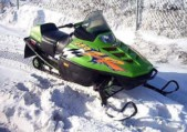 Typical Snowmobile A 1997 Arctic Cat ZR 580 Snowmobile