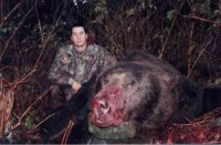 AIRMAN KILLS BEAR IN ELMENDORF 