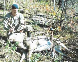 Jerrod Smith's uncle shot an 8 point 235 # on 10/29/2005